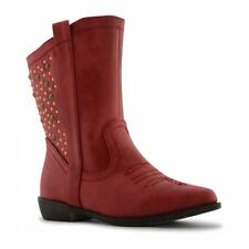 Unbranded Leather Upper Winter Zip for Girls