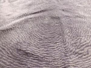 sheepskin Karakul Persian lambskin leather hide Light Purple Ripple Haired