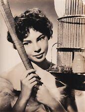 LESLIE CARON STUNNING PORTRAIT STYLISH POSE (Lili) 1953 VINTAGE ORIG Photo 4