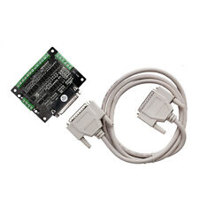 【US Free Ship】breakout board DB25 for cnc router kits milling engraver+cable