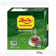 Pure Ceylon BOPF Black Tea - Zesta 100 Tea Bags 200g