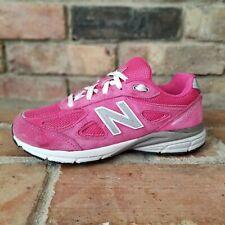 New listing New Balance 990v4 Big Kids Size 3 Wide Pink Running Shoes KJ990PEP Comfort