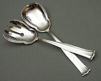 AWS Wellner Johann Strauss Salatbesteck 800er Silber Art Deco (26)