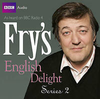 FRY'S ENGLISH DELIGHT - SERIES 2 - STEPHEN FRY - NEW/SEALED BBC CD AUDIO BOOK