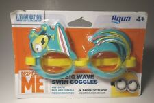 Despicable Me Minion The Big Wave Summer Pool  Adjustable Swim Goggles