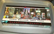 Buffalo Games Panoramic Times Square New York 750 Piece Jigsaw Puzzle Sealed New