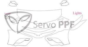 18+ Toyota Camry SE/XSE 3M Scotchgard Pro Series Clear Bra Kit