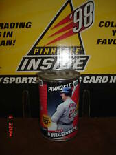 Mark McGwire 1998 Inside Pinnacle Sealed Can-Cardinals