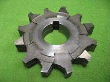 2 Interlocking Milling Cutter 12T 3-27/32 x 3/4 x 1-1/4