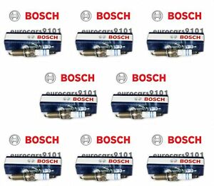 Smart Fortwo Bosch Spark Plugs YR7NE 1321590003 Set of 8
