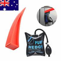 Car Air Pump Wedge Inflatable Hand Trucks Door Window Shim Entry Open Tool Kit