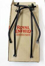 ROYAL ENFIELD 350cc REAR MUDGUARD CARRIER SET LH/RH BLACK #597122 GENUINE PART