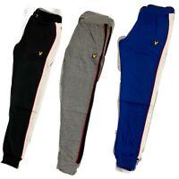 New Lyle& Scott Stripe Men's Joggers - Perfect for Winter