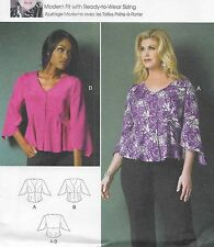 New! Uncut Sewing Pattern Plus Size 18W-44W Easy Butterick 5967 Connie Crawford