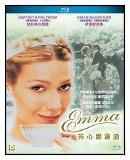 """Gwyneth Paltrow """"Emma"""" Greta Scacchi Romantic Region A Blu-Ray"""