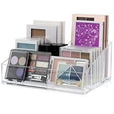 Makeup Cosmetics Palette Storage Organizer Stand Nail Polish Holder Plastic Case