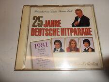 Cd  25 Jahre Deutsche Hitparade  -  1981