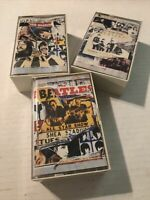 THE BEATLES ANTHOLOGY VOL 1 2 AND 3 DOUBLE CASSETTE LOT - RARE!