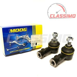 Moog Track Tie Rod End Pair for FORD ESCORT Mk 1 - all models incl Mexico & RS