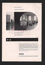 FRANKENTHAL, Werbung 1960 KSB Klein, Schanzlin & Becker AG Rotationskompressoren