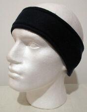 Vintage 80s Blue Fleece Headband w/ Earflaps (one size) Retro Ski / Sportswear