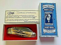 Case Classic Collector 3 Blade Pocket Knife 5355 OV 12 Tested w/ COA 1994