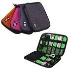 Mini Earphone Data Cables USB Flash Drives Travel Case Digital Storage Bag DQ