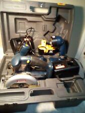 Ryobi Tools-Circular Saw, Drill, Flashlight, Battery & 2 Chargers-Free Ship-Vgc