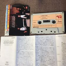 BEE GEES Living Eyes JAPAN CASSETTE TAPE w/PS+Insert 28CW0007 Free S&H/P&P