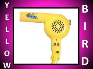NEW! BABYLISS PRO CONAIR 1875 WATT YELLOWBIRD CERAMIC HAIR BLOW DRYER 6 HEAT PIC