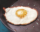 """Giclee fine art print of oil painting one fried egg, food 8""""×10"""""""