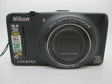 Nikon Coolpix S9300 16.0MP 3''Screen WIDE18x Zoom Digital Camera (For PArts)