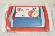 Neoflam Clean Chop TAGLIERI (3-pc) lavabili in lavastoviglie, bordi antisdrucciolo (SH)