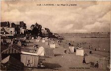 CPA   Larmor-Baden - La Plage á 4 heures (431132)