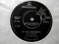 """RARE THE SCAFFOLD 'Do You Remember' 7"""" Vinyl single Possibly the best on ebay!!!"""