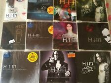 Lot of 13 Import CD singles by HIM (Finnish alternative rock/metal band)