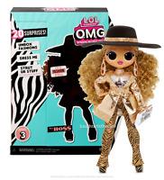 NEW  LOL Surprise DA BOSS OMG Fashion Doll Series 3 Boss Queen IN HAND Sister