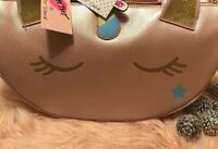 Betsey Johnson Unicorn Rose Gold Pink Insulated Cooler NEW