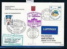 66823) LH SF Berlin-Zurich Suisse 6.4.2001, Br. Portail, GA Vatican