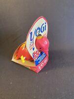 Vintage 1960s Yogi Toy Wall Climbing Pink Yellow Bird Original box packaging