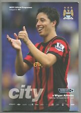 Manchester City V Wigan Athletic 10th September 2011 Football Programme