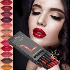 12x Lippenstift Wasserdicht Beauty Kosmetik Lip Lipgloss Matte Lipstick Lipliner