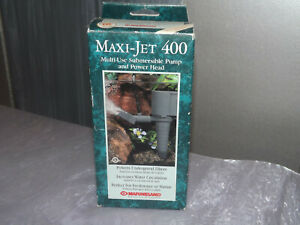 MarineLand Maxi-Jet 400 Pro Pump for Aquariums New in Box