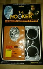 1982 MOC SEALED T.J. HOOKER I.D. WALLET by: Fleetwood RARE HTF L@@K LOWEST PRICE