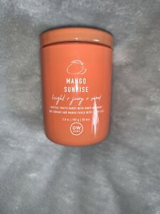 DW Home Scented Candle - Mango Sunrise - 3.8oz (108g) - Small Single Wick