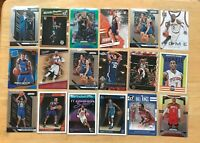 HUGE 18 Card Basketball Lot Prizm, Silver, Rookies, Stars, Inserts, More
