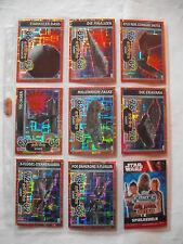 Star Wars Force Attax EXTRA Movie 4: Alle 8 Holo-Karten Nummer 113 bis 120. NEU!