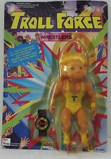 Vintage 1990s Troll Force Wrestlers Action Figure Big T RARE