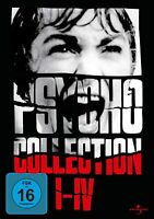 PSYCHO Complete Collection 1-4 Films 1 2 3 4 NEW SEALED 4 DVD BOXSET UK REGION 2