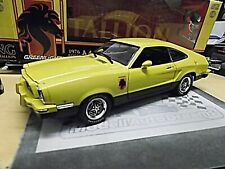 FORD Mustang GT V8 Stallion II MKII yellow gelb Muscle V8 1976 Greenlight 1:18